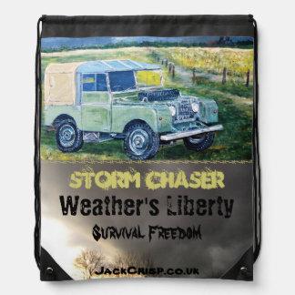 Storm Chaser: Drawstring Bag
