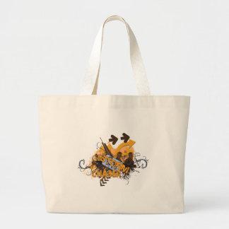 Storm Chaser Grunge Large Tote Bag