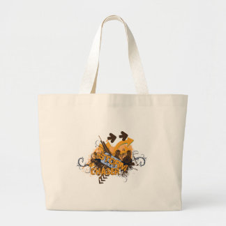 Storm Chaser Grunge Tote Bags