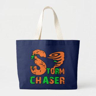 Storm Chaser Large Tote Bag
