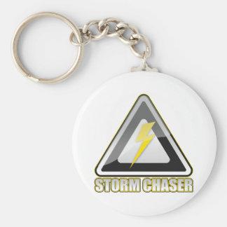 Storm Chaser Lightning Key Ring