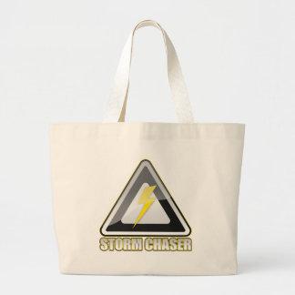 Storm Chaser Lightning Tote Bag