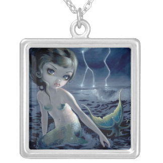 Storm Chaser NECKLACE mermaid lightning storm