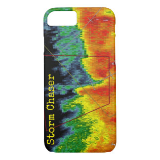 Storm Chaser Radar Image iPhone 8/7 Case