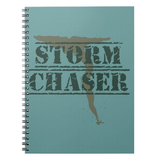 Storm Chaser Rubber Stamp and Funnel Notebooks