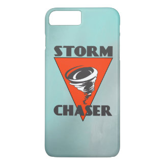 Storm Chaser Tornado and Red Triangle 2 iPhone 8 Plus/7 Plus Case