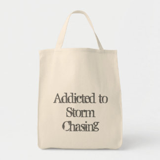Storm Chasing Grocery Tote Bag