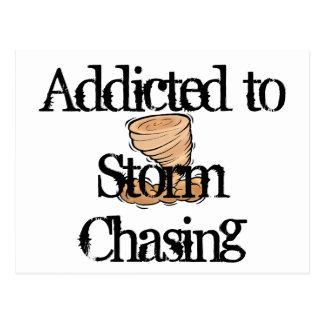 Storm Chasing Postcard