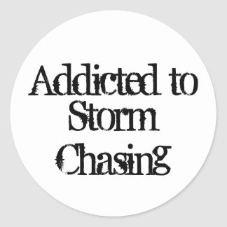 Storm Chasing Sticker