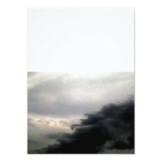 Storm Clouds 14 Cm X 19 Cm Invitation Card
