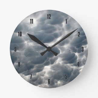 STORM CLOUDS 2 ROUND CLOCK