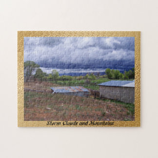 Storm Clouds and Mountains Jigsaw Puzzle