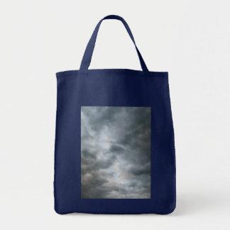 Storm Clouds Breaking Grocery Tote Bag