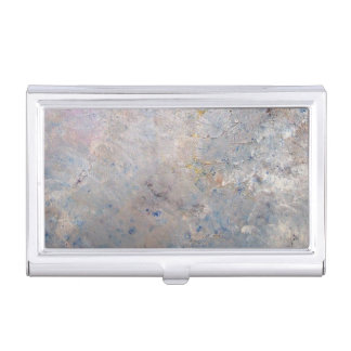 Storm Clouds Business Card Holder