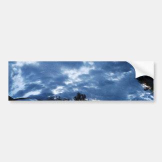 Storm Clouds Fractal Bumper Stickers