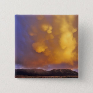 Storm Clouds in the Centennial Range in Montana 15 Cm Square Badge