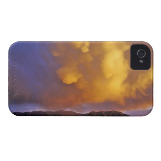 Storm Clouds in the Centennial Range in Montana iPhone 4 Covers