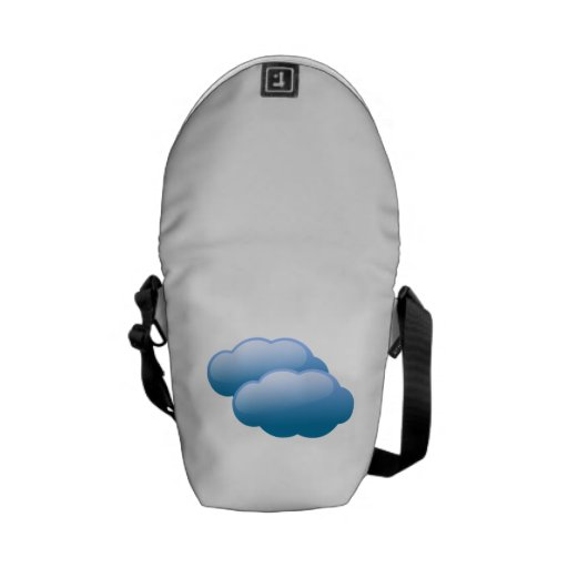 Storm Clouds Courier Bag