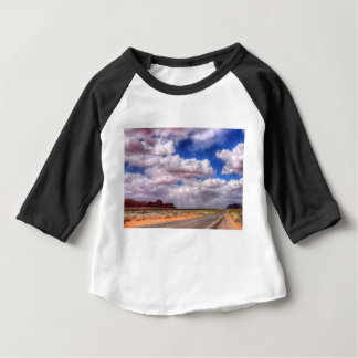 Storm Clouds Monument Valley, Utah Baby T-Shirt