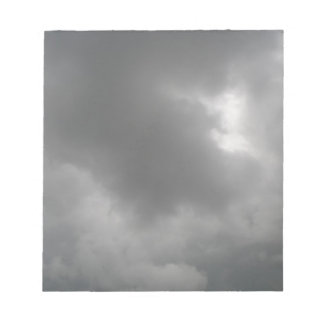 Storm Clouds Notepad