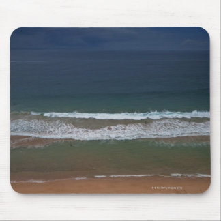 Storm clouds out ot sea above Mona Vale Beach Mouse Pad