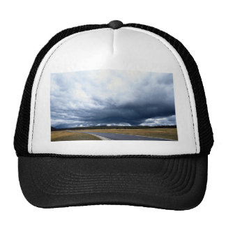 Storm clouds over Firehole River Yellowstone Nati Trucker Hat