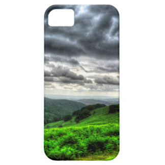 Storm clouds over south Wales iPhone 5 Case