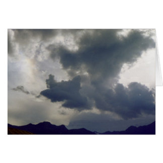 Storm Clouds over the Rockies Card
