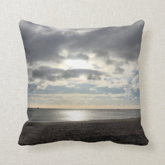 Storm clouds over the sea cushion
