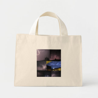 Storm Collage Canvas Bag