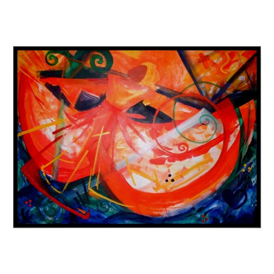 Storm Dancer - Haitian Art - Black Art Poster