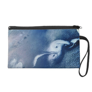 Storm Formations above Earth Wristlet Purses