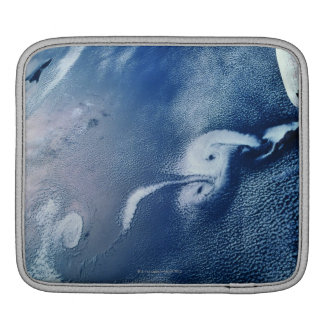 Storm Formations above Earth iPad Sleeves