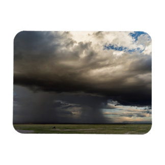 Storm Forming Over The Nearby Slopes Of Mount Rectangular Photo Magnet