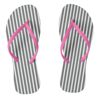 Storm-Gray-Oxford-Stripes(c) Unisex_Multi-Sizes Flip Flops