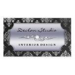 Storm Grey Dashing Damask Fashion/Interior Design
