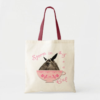 Storm in a Teacup Budget Tote Bag