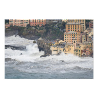Storm in Camogli Art Photo