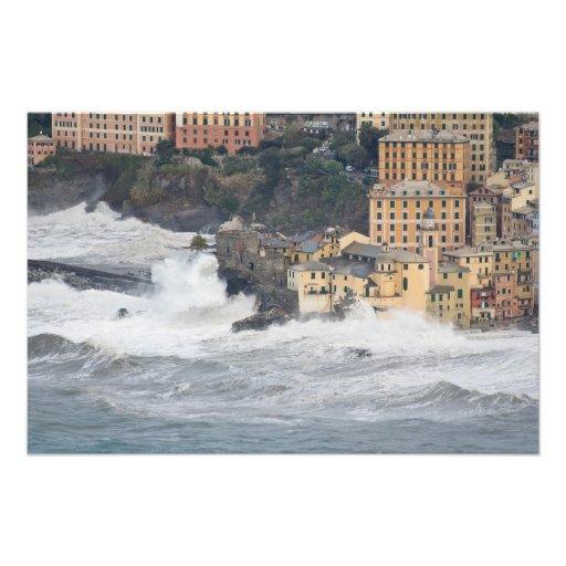 Storm in Camogli Photographic Print