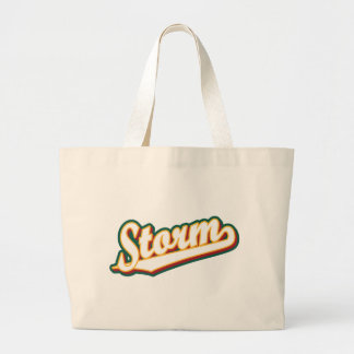 Storm in Gold, Red and Green Bag