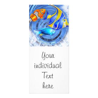 storm in the aquarium (C) Rack Card Design