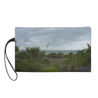 Storm in the Distance Wristlet Clutch