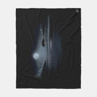 STORM IN THE MOONLIGHT - Fleece Blanket (MEDIUM)