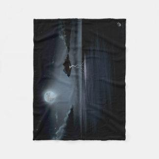STORM IN THE MOONLIGHT - Fleece Blanket (SMALL)