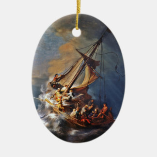 Storm on the Sea of Galilee Christmas Ornament