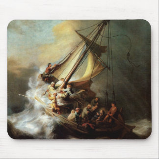 Storm on the Sea of Galilee Mouse Mat