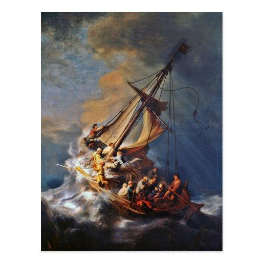 Storm on the Sea of Galilee Postcard