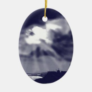 Storm over Bridlington Christmas Ornament