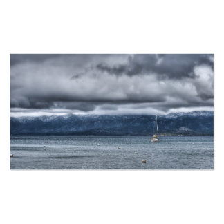 Storm Over The Lake Business Card