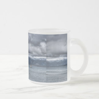 Storm Over The Lake Mugs